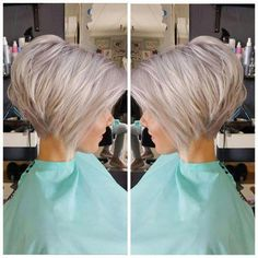 Are you looking for Medium Hair Cuts With Layers For Women See our collect. - - Are you looking for Medium Hair Cuts With Layers For Women See our collection full of Medium Hair Cuts With Layers For Women 2018 and get inspir. Bob Haircuts For Women, Short Bob Haircuts, Pixie Bob Haircut, Bob Haircut Back, Short Hairstyles For Women, Short Hair Cuts For Women Bob, Short Stacked Haircuts, Inverted Bob Hairstyles, Haircut Short