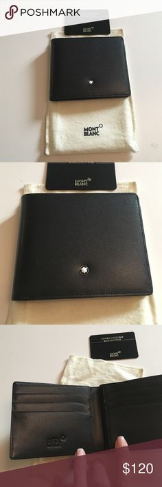 Mont Blanc men wallet Mont Blanc men wallet Montblanc Bags Wallets