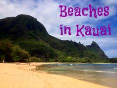 Beaches in Kauai- Ke'e, Tunnels, Po'ipu, Mahaulepu, Lydgate (are just a few of the beautiful beaches on the island of Kauai) #Kauai #Hawaii #Island #Paradise #Beach #Photography #Kee #Tunnels #Poipu #Mahaulepu #Lydgate #Travel
