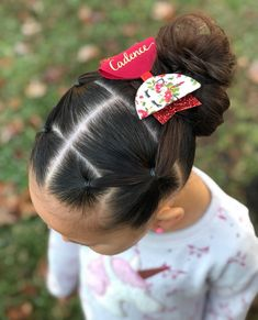 Quick 5 minute style that was inspired by ❤️ she's very talented and creative, so you should check her page out if… Girls Hairdos, Cute Little Girl Hairstyles, Baby Girl Hairstyles, Princess Hairstyles, Easy Toddler Hairstyles, Kids Braided Hairstyles, Pretty Hairstyles, Toddler Hair Dos, Hairstyles 2016