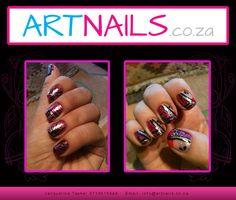 custom designer pink and black glitter acrylic nail art nails Glitter Acrylics, Glitter Nail Art, Black Glitter, Painted Nail Art, Acrylic Nail Art, Hand Painted, Black Nail Art, Cool Nail Art, Class Ring