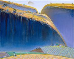 ART & ARTISTS: Wayne Thiebaud (landscapes)