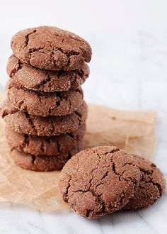 These Chocolate Snickerdoodles from @BakedBree need to be made.  Today.