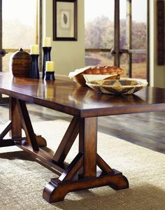 Legacy Classic Funiture Dining Room Pedestal Table G57745 - Kittles Furniture