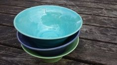 Frukostskålar / Breakfast bowls / Handgjord keramik / Handmade ceramics / dbME - design by Mona Elwing Breakfast Bowls, Pottery, Ceramics, Tableware, Handmade, Design, Ceramica, Ceramica, Hand Made
