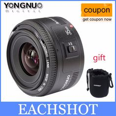 In Stock! Yongnuo 35mm lens YN35mm F2 lens Wide-angle Large Aperture Fixed Auto Focus Lens For canon EF Mount EOS Cameras | Price: US $87.49 | http://www.bestali.com/goto/32421449716/10