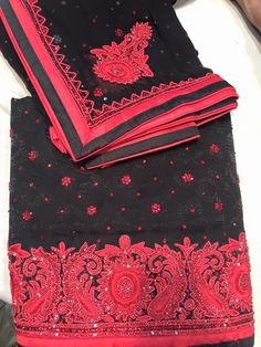 BLACK & RED SUIT  http://www.fashiongaloreoutlet.co.uk/shruti-suits-5/black-red-suit-shruti-suits.htm