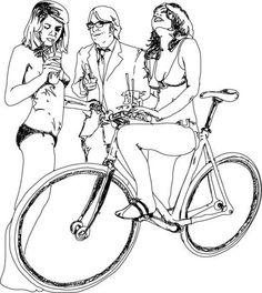 bicycleart:  Gentleman