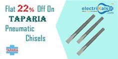 Flat 22% Off On Taparia Pneumatic Chisels Online @ electrikals.com