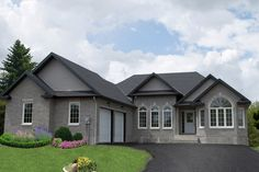 Awesome Gray Exterior Color Schemes Pictures - Interior Design ...