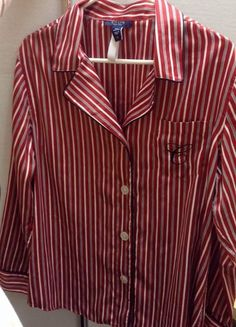 "NWT Womens Pajama Top ""CHAPS 1978"" size XL #Chaps #Sleepshirt"