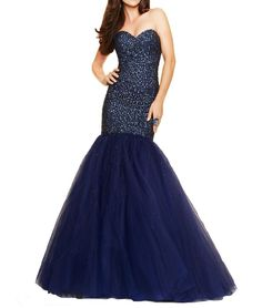 Beyonddress Mermaid Heavy Beaded Sequin Prom Dress Long Evening Gown 22 Navy Blue. Tulle fabric;Dry clean only. About the size information, please refer to the left size chart US2 to US26w, DO NOT use Amazon size chart or the size you normally wear. Beaded Floor Length Pleated Prom Dress Evening Gowns. Suitable as prom dresseses, cocktail dresses, evening dresses, homecoming dresses and other formal dresses. Designer's Style 2016 Sexy Beaded Mermaid.
