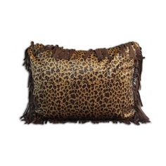 Leopard Pillow ❤ liked on Polyvore featuring home, home decor, throw pillows, leopard home decor, leopard home accessories and leopard throw pillows