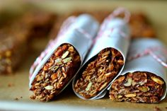 Chocolate Vegan Granola Bars
