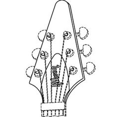 Musical instruments, namely, guitars