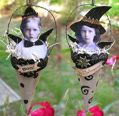 Halloween Fairy Ornaments