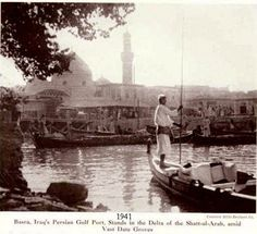 "Basra 1941 once ""the Venice of East"""