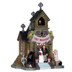 Lemax Spooky Town Collectibles | Lemax Spooky Town Frank's Big Day #35499 - American Sale
