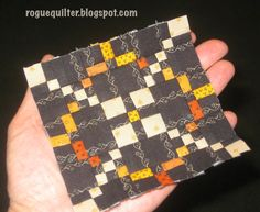rogue quilter - Excellent tips on sewing mini quilts!