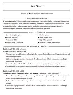 View this construction resume template and use it for inspiration for building a resume for any construction job. Free Resume Builder, Professional References, Nursing Resume Template, Types Of Resumes, Resume Template Examples, Build A Resume, Construction Jobs, Nursing Assistant, Looking For A Job