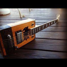 Made To Order Cigar Box Guitars - Saner Cigar Box Guitars