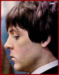 SIXTIES BEAT: Paul McCartney. Those eyelashes!
