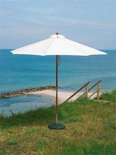 Sonnenschirm Messina - Holz Sonnenschirm sofort lieferbar   cairo.de