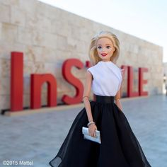 """Barbie® on Instagram: """"It's going to be a fun night for fashion! Excited to join @InStyleMagazine at @thegetty for the first ever #InStyleAwards tonight in LA!  #barbie #barbiestyle"""""""