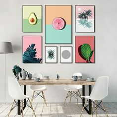 Browse unique items from PrintsProject on Etsy. Fresh pop fruits, pastel colours, current trends. Curate your own gallery wall!