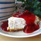 Foto recept: Kersencheesecake zonder bakken