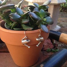Watering Can Charmed Collection in Sterling Silver by jimclift