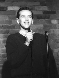 A young George Carlin .... Carlin Started Out By Entertaining Mainstream America But Eventually Ended Up Making Fun Of Them