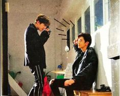 Baekhyun's *sobs* taking *sobs* photos *sobs* of *sobs* chanyeol *sobs again then dies* Chanbaek Fanart, Exo Chanbaek, Exo Ot12, Park Chanyeol, Baekhyun Chanyeol, Kpop Exo, Exo Ships, Girls Generation, Exo Couple