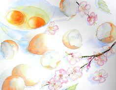 dipinti di fiori | A Blob of Color