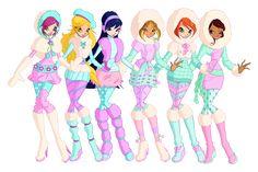 Winx Club Season 6 outfits