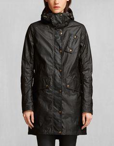 Payne Parka - Black Waxed Cotton Jackets