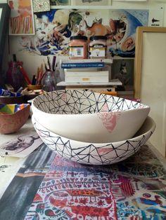 Ceramic bowls | Jasmin Dwyer
