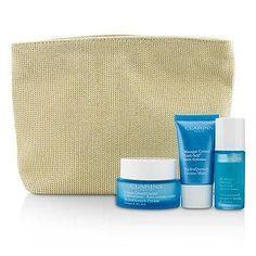 Moisture Must-Haves Set: HydraQuench Cream 50ml + Serum 15ml + Cream Mask 15ml + Bag - 3pcs+1bag