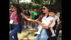 Watch Sakshi Singh Dhoni With daughter Ziva Marching fast