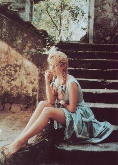 60 S Hippy Costume Robe fantaisie peace love tenue femme violet 1960 s CND Arrière