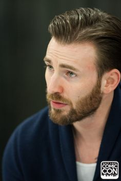Chris Evans at Salt Lake Comic Con on September 26, 2015 in Salt Lake City, Utah.