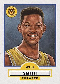 "Cuyler Smith ""86 - Will Smith"" Framed"