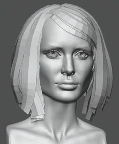 How do I create real-time hair for games? | Tutorials | Pinterest
