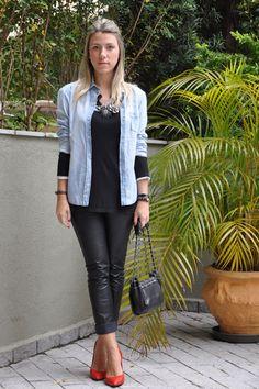 Nati Vozza - Look moda fashion brasil brazil blogger style