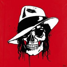 Dead Famous Collection: Michael Jackson Skull by George Ioannou (2013)
