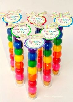 rainbow party gifts