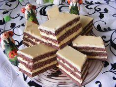 Rumos vaníliás szelet - Finom desszert receptek képekkel bármilyen alkalomra