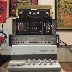 Delays Possible. Binson Echorec HH Slider Echo Dynacord Echocord Studio Sound City Echomaster.
