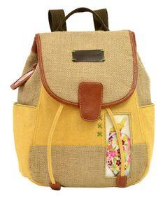 Look at this #zulilyfind! Spring Bloom Iris Backpack #zulilyfinds