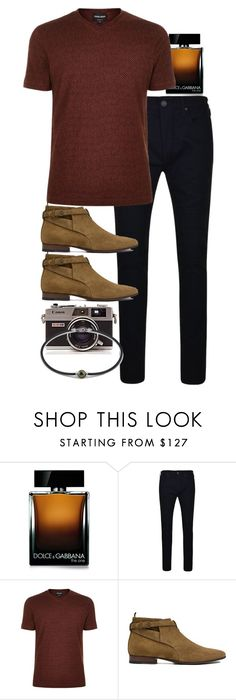"""""""Inspired by Harry."""" by nikka-phillips ❤ liked on Polyvore featuring Dolce&Gabbana, True Religion, Giorgio Armani, Yves Saint Laurent, men's fashion and menswear"""